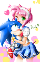 SonAmy ( Amy human version ) by Yilulu