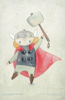 Avengers - Thor by freddyscribbles
