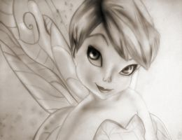 tinkerbell by justaye