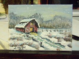 ACEO Landscape #2 by annieoakley64
