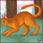 Firestar Stalks by lulubellct