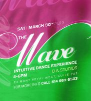 Poster Wave March3 by sounddecor