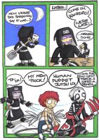 kankuro's new tricks by prisonsuit-rabbitman