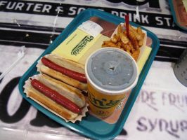 Nathan's 2 Hot Dogs Meal by BigMac1212