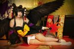 Dead or alive 5 - Nyotengu by 0kasane0