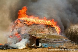 Barn Burner by KSPhotographic