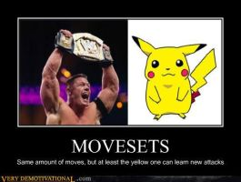 Movesets - A Demotivator by RustySteele