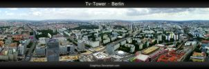 Tv-Tower Berlin 360 degrees by Graphica