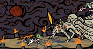 Battle With the Demon Lord by SarurunKamui
