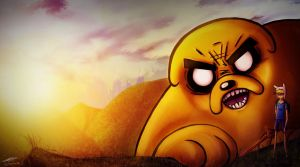 Finn and Jake by The-Spooky-Man