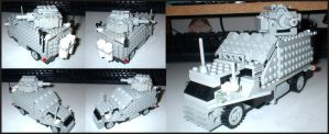 Lego WWI Armoured car by Frohickey