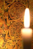 Celtic candle light by Ludo38