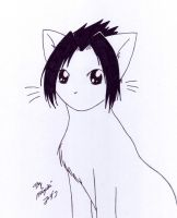 Sasuke Kitty x3 by AppleFreak56