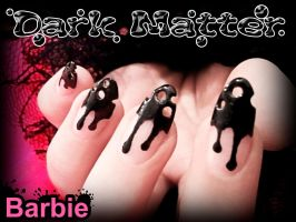 Dark Matter Nails by BarbieNailArt