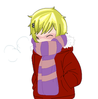 Me In Le Cold by Naruko329