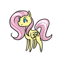 Fluttershy by ChoochooTrannysaurus