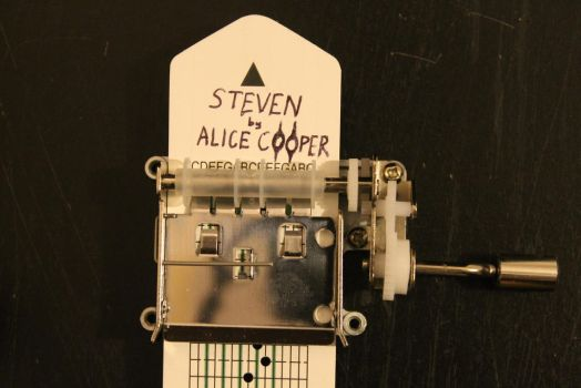 Steven by Alice Cooper on Music Box by DemonBa55Player