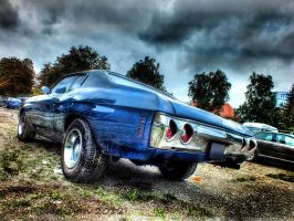 Chevelle blue 2 HDR by gogo100878