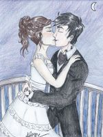 Will and Tessa The Balcony by SKPartist