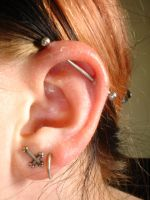 Industrial Piercing 3 by InToXiCaTeD-MiNd