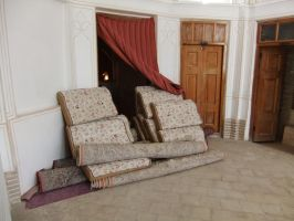 Persian Mansion 07 - Pile of Carpets by fuguestock