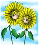 Sunflowers, You and I by EvanescentMoon