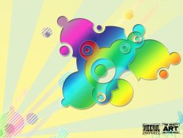 Rainbow vector by mirul