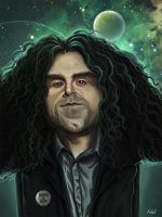Claudio Sanchez from Coheed And Cambria by DiegoBarcellos