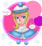 Namine: stay warm by Animequeen111