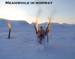 Meanwhile in Norway by MissPsycopath