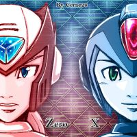 X and Zero by cerae28