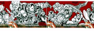 captain america puzzle cards by gammaknight