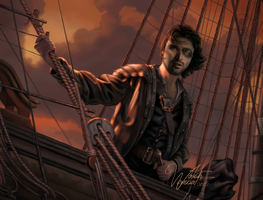 Captain Hale by watchwombat