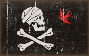 Jack Sparrow's Jolly Roger by MikePetrucci