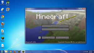 So i was playing Minecraft and this showed up by SSJ2BlazeSG