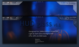 Hud glass v1 by bladeiai