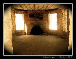 Inside Squire's Castle by slipknotcrow