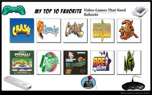 My Top 10 Favorite Video Games That Need Reboots by Toongirl18