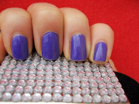 Lilac nails part 2 by xzibitka