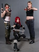 Two Lara and Katharina by LiSaCroft