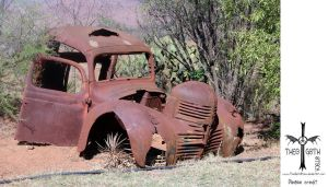 Old Truck by TheoGothStock