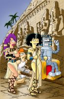 Futurama  Egypt by Loulou13