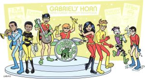"Teen Titans ""Gabriels' Horn"" by BillWalko"