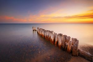 Old Pier at Whitefish Point by tfavretto