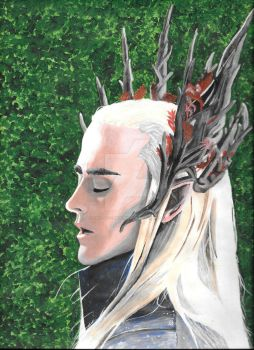 Lee Pace's Thranduil, king of the woodland realm by King-Of-Fandoms