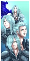 FF7: Seph and the boys by DarkLitria