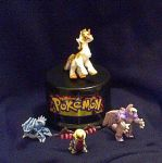 My complete hand sculpt pokemon micro mini set by IggySeymour