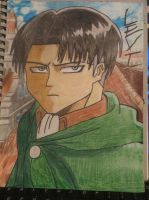 Levi by SeraphinaPitchiner