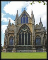 Lincoln Cathedral 3 by lizzyr