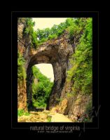 Natural Bridge of Virginia by jpgreeff